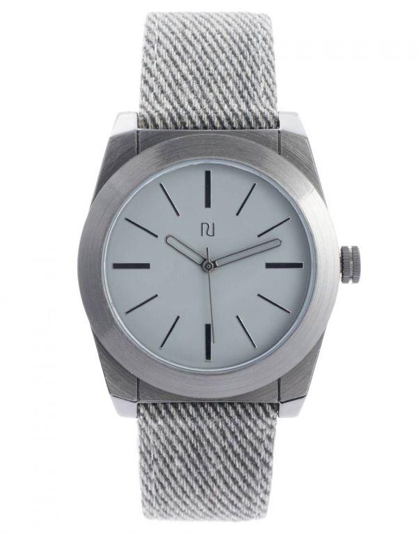 Silver Case Watch