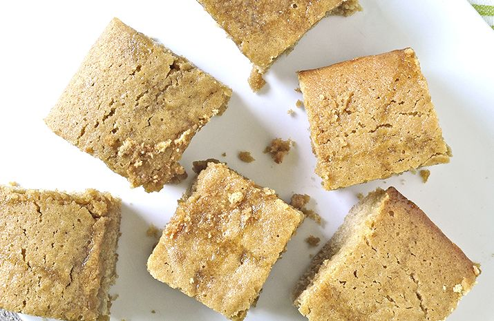 Stronger Together: Maple Syrup Blondies | Good Eats | Pinterest