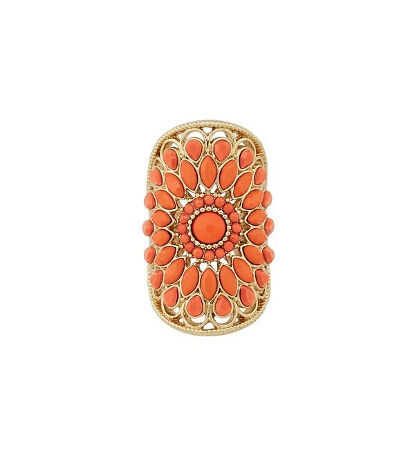 Persimmon Ring from lia sophia