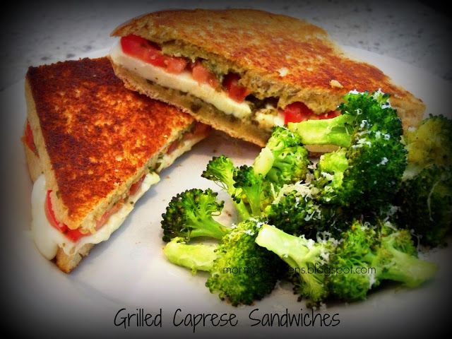grilled Caprese Sandwich | Recipes to try | Pinterest