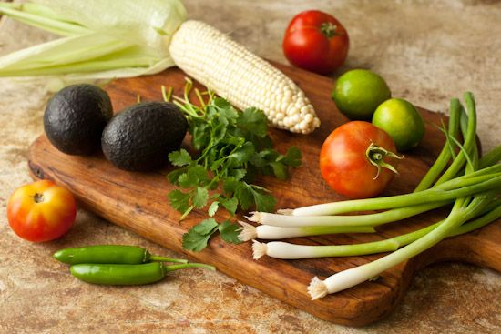 Grilled Corn Guacamole - Pinch My Salt | Looks Delicious | Pinterest