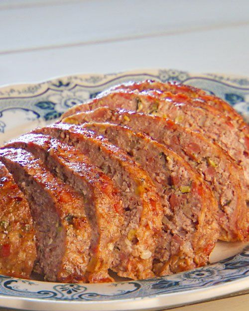 Sausage Meatloaf With Lemon And Parmesan Recipe — Dishmaps