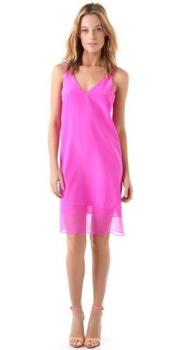 Tibi Hannah V-neck Dress