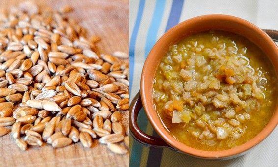 Farro & Leek Soup -- Two of my favorite things!!