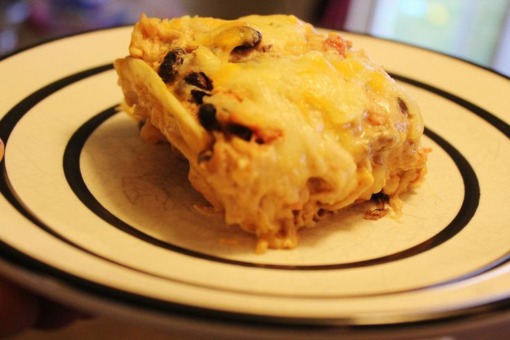 Layered Enchilada Casserole | Recipes - Casseroles | Pinterest