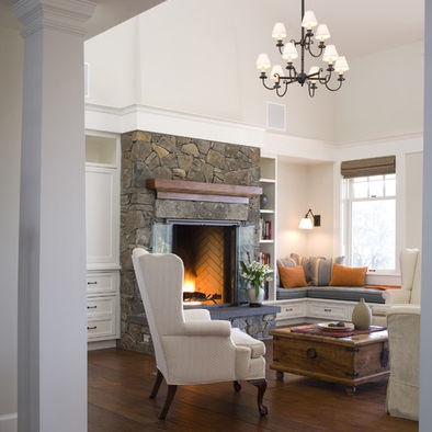 HOW TO ARRANGE FURNITURE AROUND A CORNER FIREPLACE | EHOW