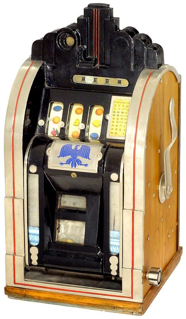 1932 mills 25 cent slot machine
