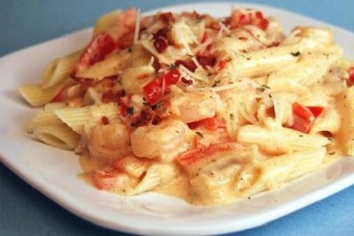 Peppered Shrimp Alfredo Recipe | Food I'm cook or eat | Pinterest