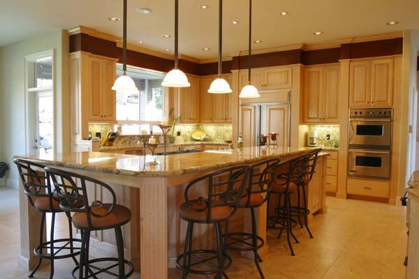 Kitchen Island ideas seating country & vintage kitchens