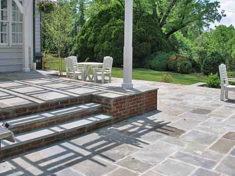 Raised Patio Design