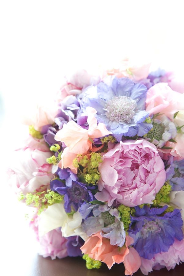 Bridal Bouquet With Color : How beautiful the color combination bridal bouquet