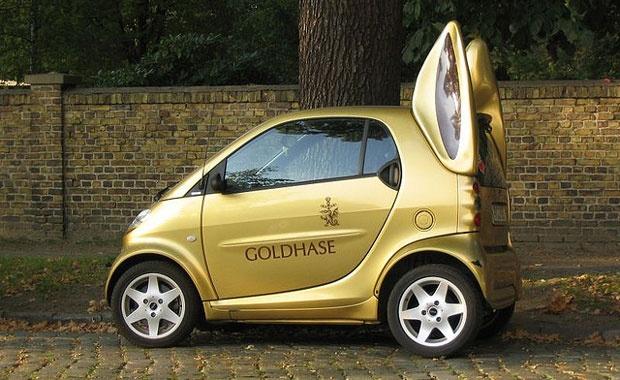 Lindt Easter Bunny Smart Car