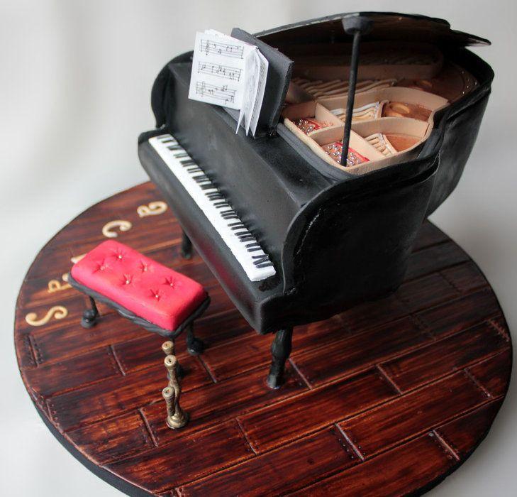 Piano Cake | Cakes | Pinterest