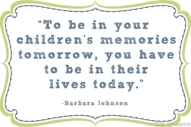 children's memories