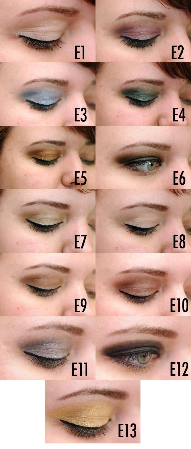 All 13 original eye shadows! Check it out!!!
