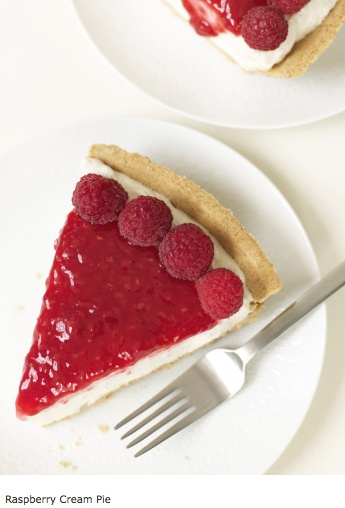 Chocolate-Raspberry Cream Pie Recipe — Dishmaps