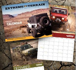 Free 2014 Jeep Extreme Terrain Off Road Calendar for Jeep fans, or not ...