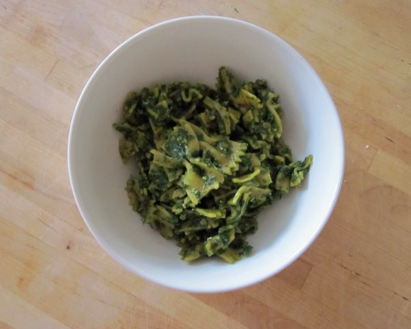 Pasta with Ramp Pesto | Recipe