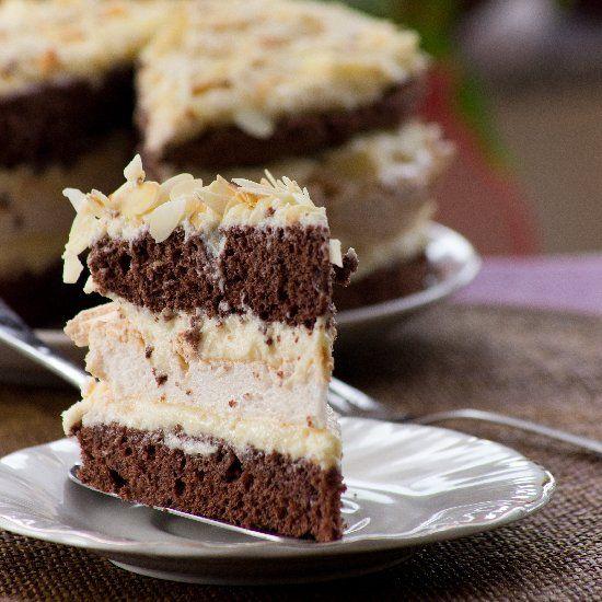 Chocolate Meringue Cake | Let Me Eat Cake | Pinterest