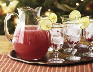 Pomegranate margaritas! @ Nikki I wonder if these are similar to the ...