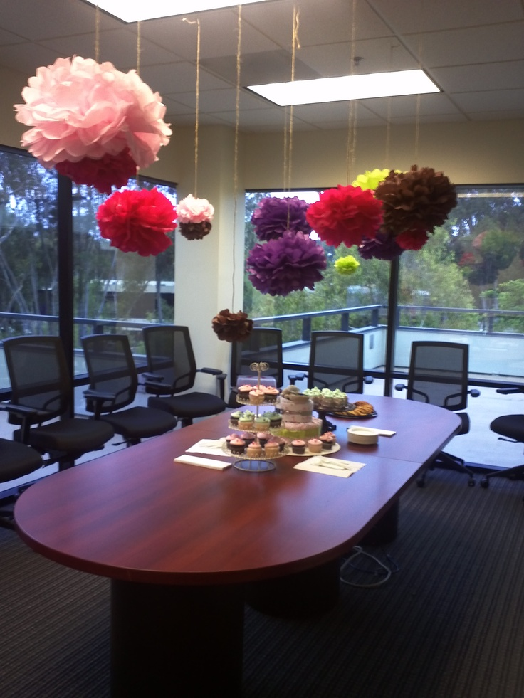 dual coed office baby shower its nice when you can make something