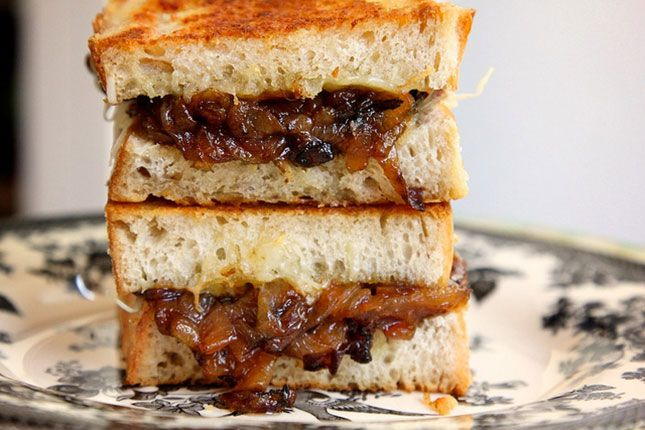 French onion soup…sandwiches. Obsessed.