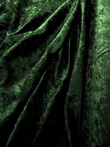 bottle green crushed velvetGreen Crushed Velvet Fabric