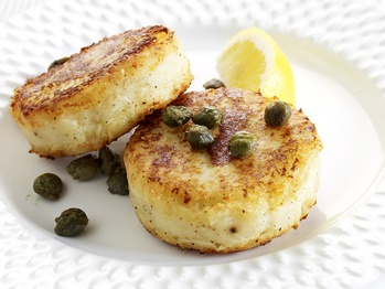 Potato and Parmesan Cakes Maybe make this with leftover potatoes, or ...