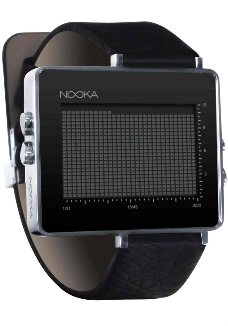 Nooka Zon Watch - Black | – Products I Love – | Pinterest