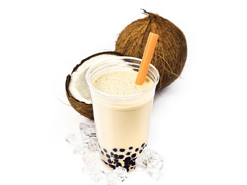 Coconut Shake Recipe - Tropical Shake with Coconut Milk and Banana