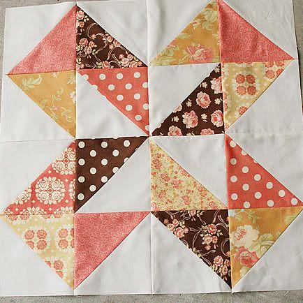 Quilt Story: Dutch Pinwheel tutorial...