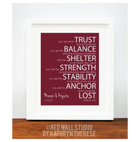 Valentines Day Gift for Husband Boyfriend Wife by RedWallStudio, $22 ...