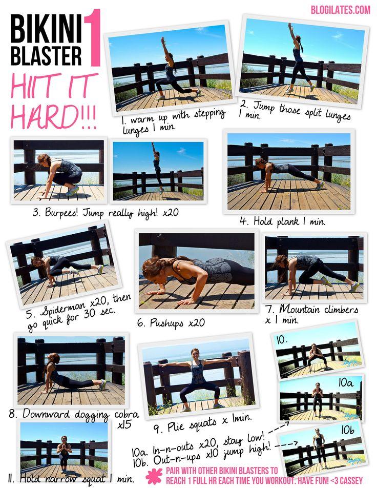 bikini 1hiit it hard printable