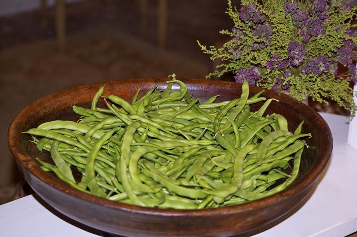 Fresh Green Beans, One Way Recipe — Dishmaps