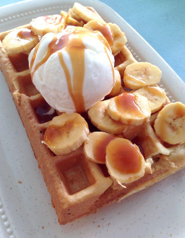 Banana-Caramel Ice Cream Recipe — Dishmaps