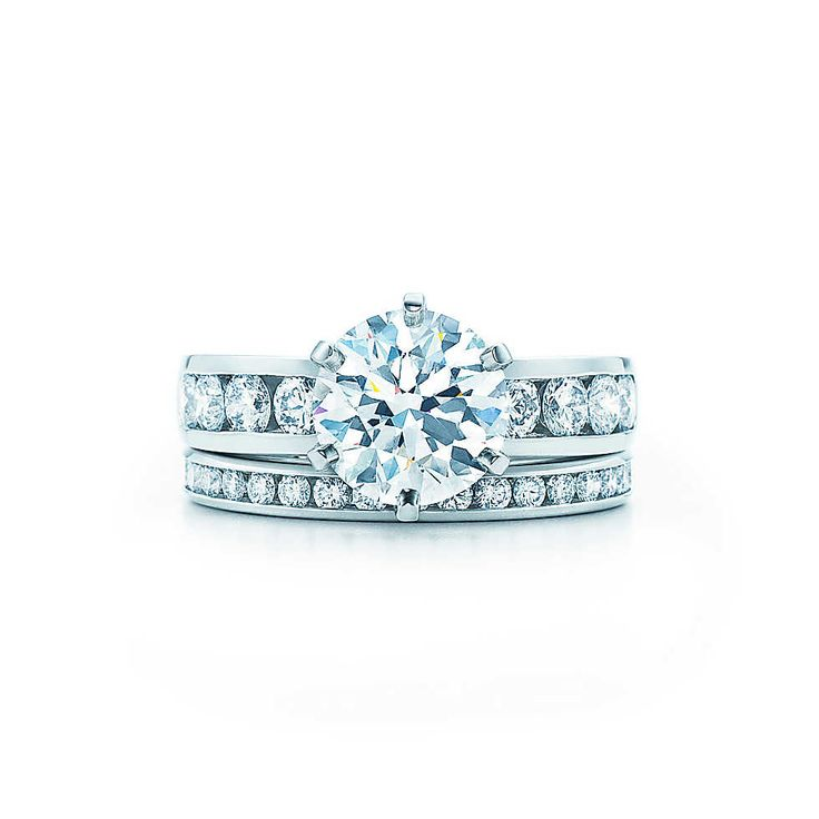 Round Brilliant With Channel-set Band Engagement Rings | Tiffany  Co.