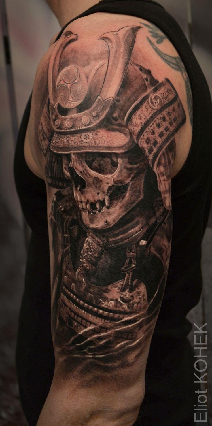Samurai Skull Tattoo
