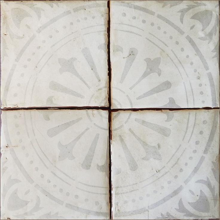 Tabarka tile in gray interior decor pinterest