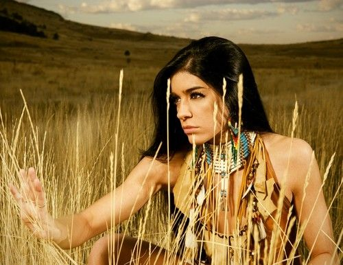Native American Indian Model Pin by lovestrength on...