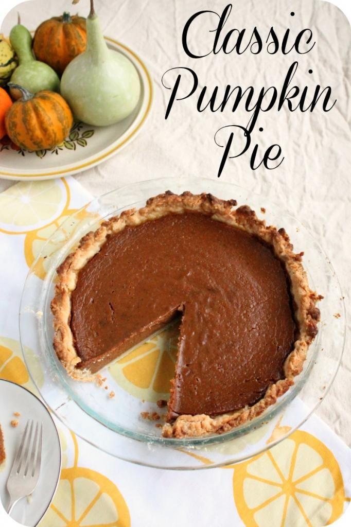 classic pumpkin pie-vegan | Food - Vegan | Pinterest
