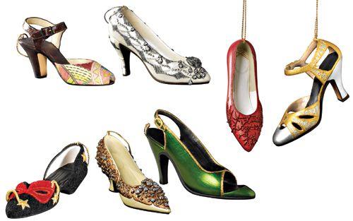 Met Museum shoe ornaments 2009