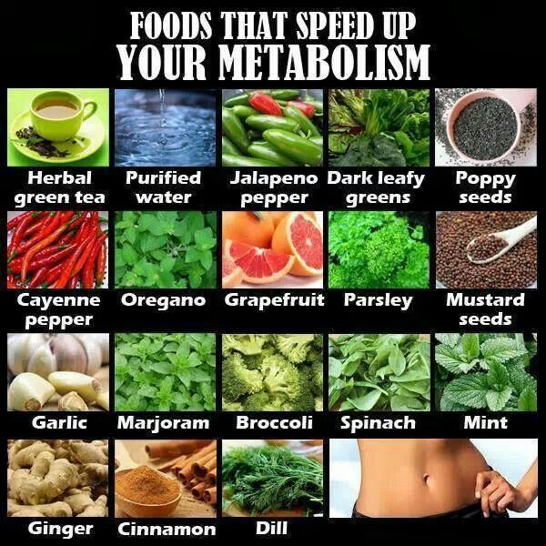 Speed up metabolism over 40
