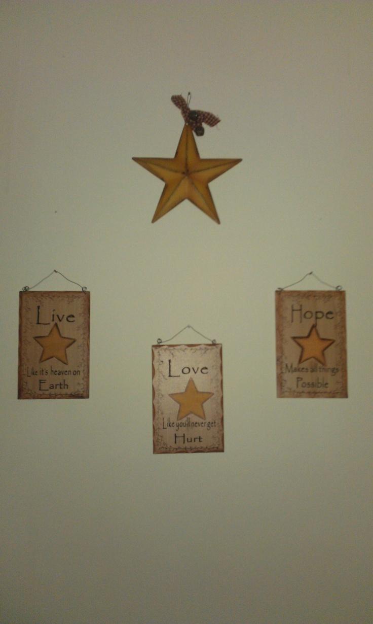 Live Love Hope Primitive Home Decor Pinterest