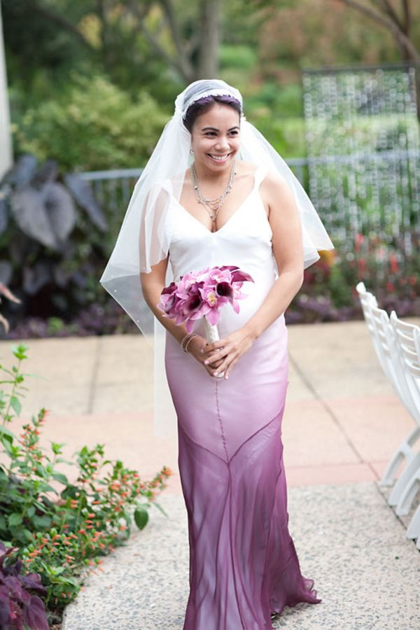 Purple ombre wedding gown for that maybe someday for Purple ombre wedding dress