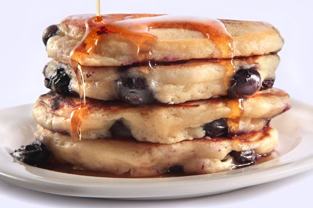 Blueberry Buttermilk Pancakes - a good reason to freeze summer ...