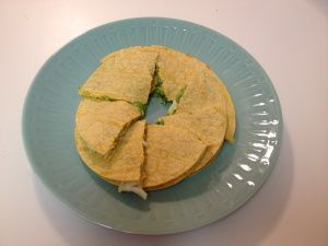Crab and avocado quesadilla | Food/ Recipes | Pinterest