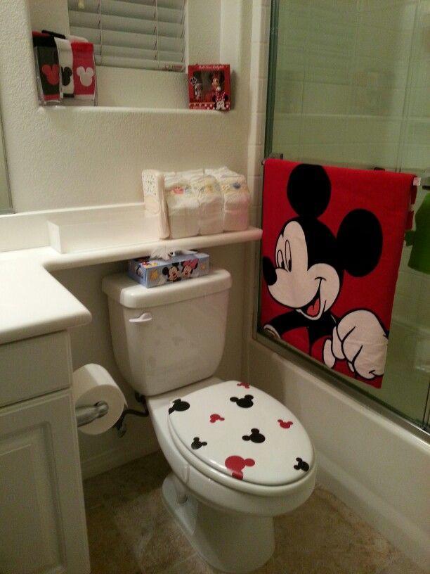 28 disney bathroom ideas mickey mouse tiles for
