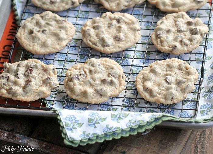 Soft Batch Style Chocolate Chip Cookies | Picky Palate. Secret ...