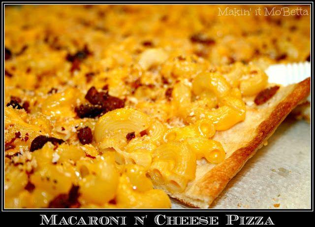 Macaroni n' Cheese PIZZA | Mac N Cheese! Ooey, Gooey Goodness ...