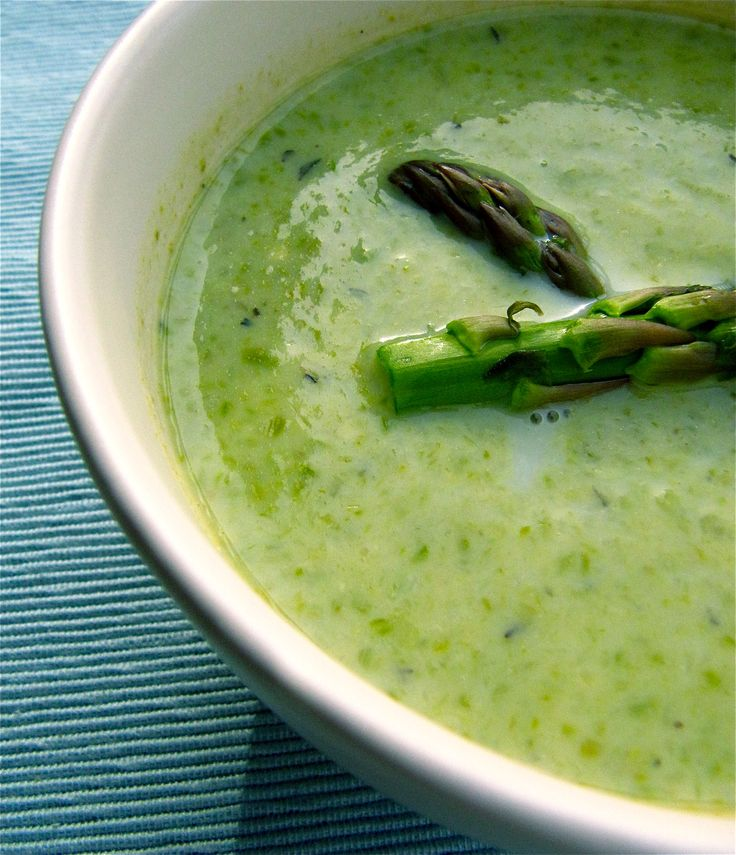 Green Goddess-Asparagus Soup | FOOD and SIPS | Pinterest